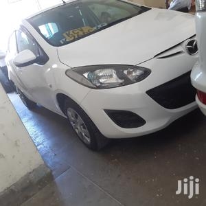 Mazda Demio 2013 White   Cars for sale in Mombasa, Mvita