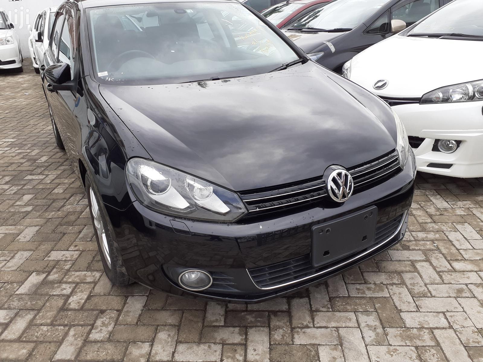 Archive: New Volkswagen Golf 2013 Black