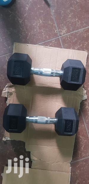 10kg Dumbbell Each   Sports Equipment for sale in Nairobi, Nairobi Central