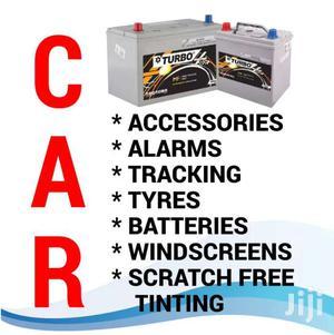 Windscreens/Car Batteries/Car Matt's/Car Alarms/Car Tracking/   Vehicle Parts & Accessories for sale in Nairobi, Kilimani
