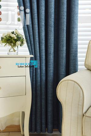 Blue Plain Linen Curtain | Home Accessories for sale in Nairobi, Nairobi Central