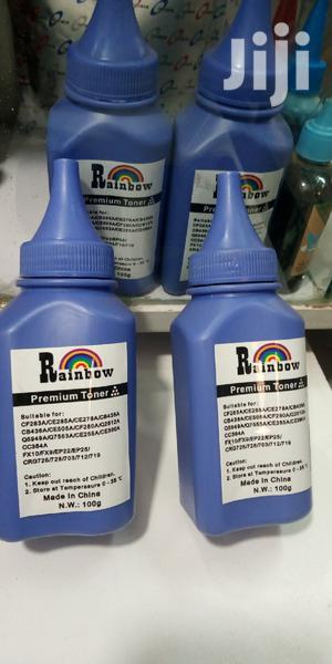 Rainbow Refiling Powder For All Black HP Toners   Accessories & Supplies for Electronics for sale in Nairobi, Nairobi Central