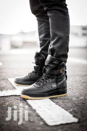 SF Air Force 1 Men Casual Sneakers Black,Green | Shoes for sale in Nairobi, Nairobi Central