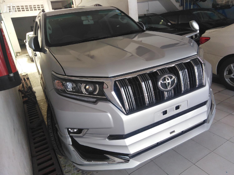 New Toyota Land Cruiser Prado 2013 Silver