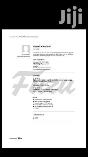 With NGO Jobs In Kenya | Healthcare & Nursing CVs for sale in Kirinyaga, Kerugoya