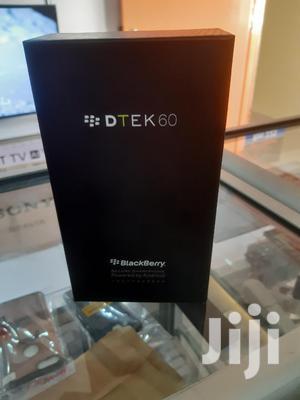 New BlackBerry DTEK60 32 GB Black | Mobile Phones for sale in Nairobi, Nairobi Central