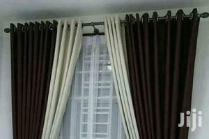 Chocolate Brown and Cream Blended Curtain | Home Accessories for sale in Nairobi, Nairobi Central