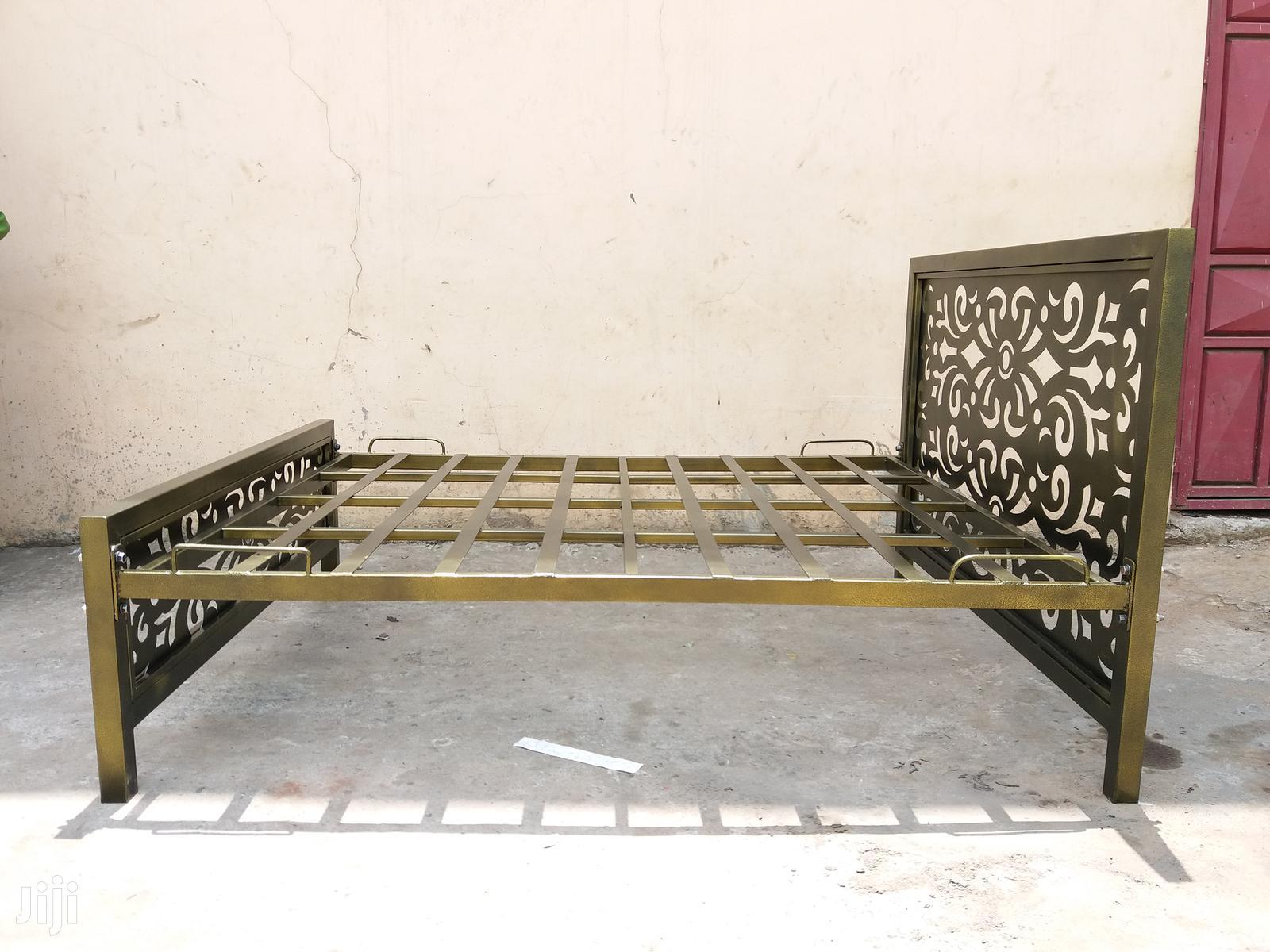 Metal Beds. 5 by 6   Furniture for sale in Makadara, Nairobi, Kenya