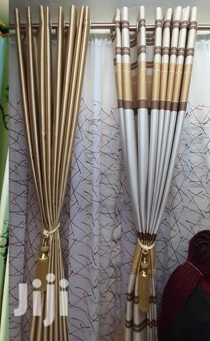 Golden Brown Theme Curtains, Sheer Available Too | Home Accessories for sale in Nairobi, Nairobi Central