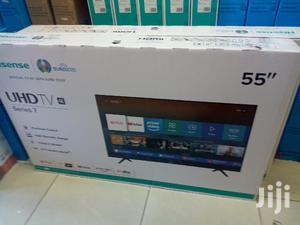 Hisense 55 Inch Smart 4k Led Tv   TV & DVD Equipment for sale in Nairobi, Nairobi Central