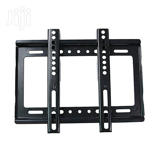 Generic 14''- 42'' TV Wall Bracket Holder - Flat Panel - Black | Accessories & Supplies for Electronics for sale in Nairobi Central, Nairobi, Kenya