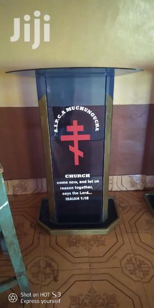 Church Pulpit / Podiums | Furniture for sale in Nairobi, Kariobangi