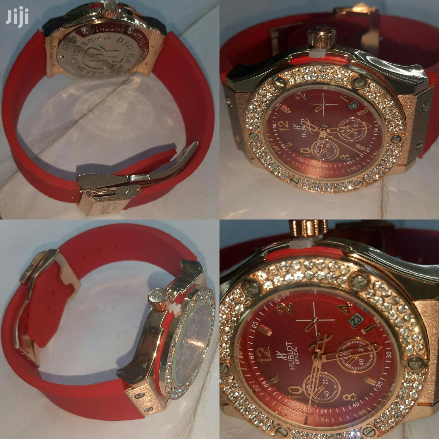 Red Small Hublot for Ladies