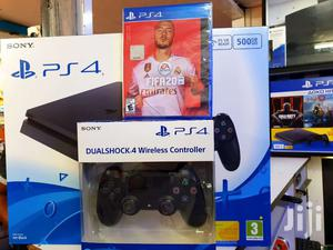 Playstation 4 Console Has Two Controllers And Fifa 2020   Video Game Consoles for sale in Nairobi, Nairobi Central