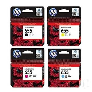 Hp 655 Black, Cyan,Magenta, Yellow Ink Catridges   Accessories & Supplies for Electronics for sale in Nairobi, Nairobi Central