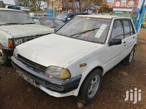 Toyota Starlet 1994 White   Cars for sale in Kiambu, Thika