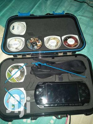 PSP With 10 Games   Video Game Consoles for sale in Nairobi, Nairobi Central