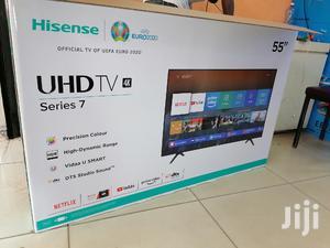 Hisense 55 Inch Smart Uhd 4k Led Tv   TV & DVD Equipment for sale in Nairobi, Nairobi Central