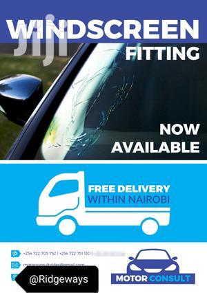 Windscreens Fitting@Motor Consult Ridgeways Off Kiambu Road | Vehicle Parts & Accessories for sale in Nairobi, Runda