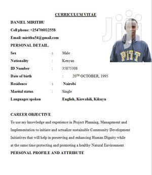 Personal Driver | Driver CVs for sale in Nairobi, Embakasi