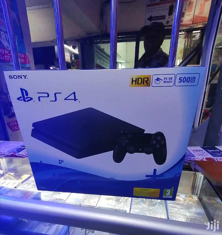 Archive: Playstation 4 Slim 500GB Brand New