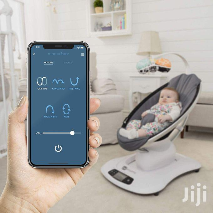4moms Mamaroo 4 Baby Swing, High-tech Baby Rocker, Bluetooth Enabled | Children's Gear & Safety for sale in Westlands, Nairobi, Kenya