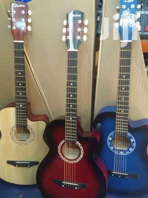 Medium Size Acoustic Box Guitar   Musical Instruments & Gear for sale in Nairobi, Nairobi Central