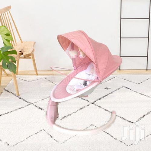 Electric Baby Swing Cot Automatic Baby Cradle Swing - PINK   Children's Gear & Safety for sale in Westlands, Nairobi, Kenya