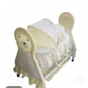 Rocking Baby Crib Rocking Baby Bed Baby Cradle Swing Cot +Mosquito Net   Children's Gear & Safety for sale in Nairobi, Westlands