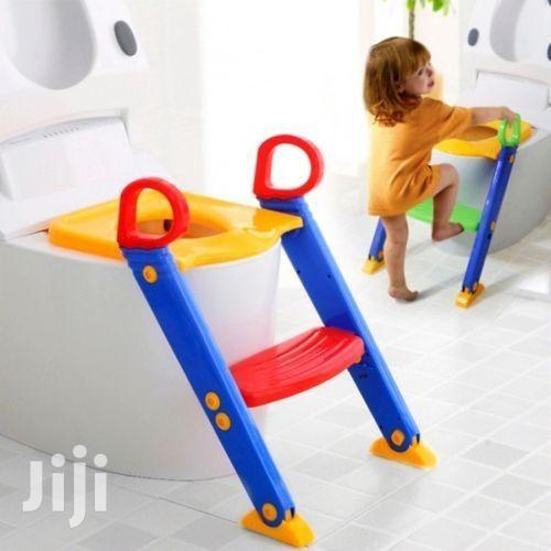 Toddler Toilet Ladder Baby Potty Trainer