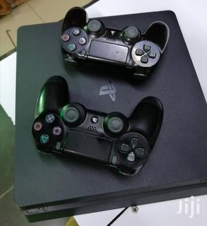 Slightly Used Ps4 Slim 500GB With Two Controllers | Video Game Consoles for sale in Nairobi, Nairobi Central