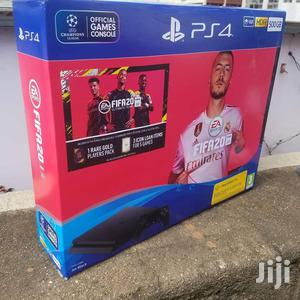 Playstation 4 Slim 500gb With Fifa 20 Game Ps4 Plus Fifa20   Video Game Consoles for sale in Nairobi, Nairobi Central