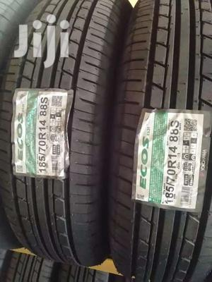 185/70/14 Yokohama Tyre's Is Made In Japan | Vehicle Parts & Accessories for sale in Nairobi, Nairobi Central