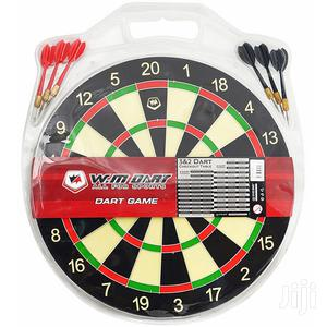 Dartboard Medium Size 15 Inches With 6 Darts Party Game Set | Books & Games for sale in Nairobi, Nairobi Central