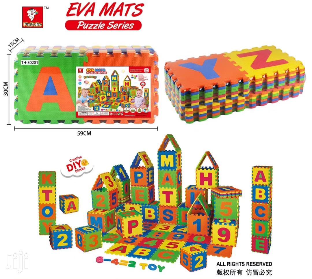Eva Foam Puzzle Mat And Building Block