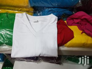 V Neck Tshirts 100 % Cotton Order Now Large Supplies . | Clothing for sale in Nairobi, Nairobi Central