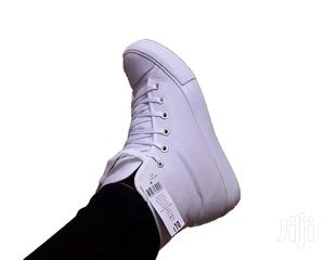 White Highcut Canvas Shoes   Shoes for sale in Nairobi, Nairobi Central