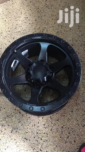 Black Hilux Sports Rims Size 16set   Vehicle Parts & Accessories for sale in Nairobi, Nairobi Central