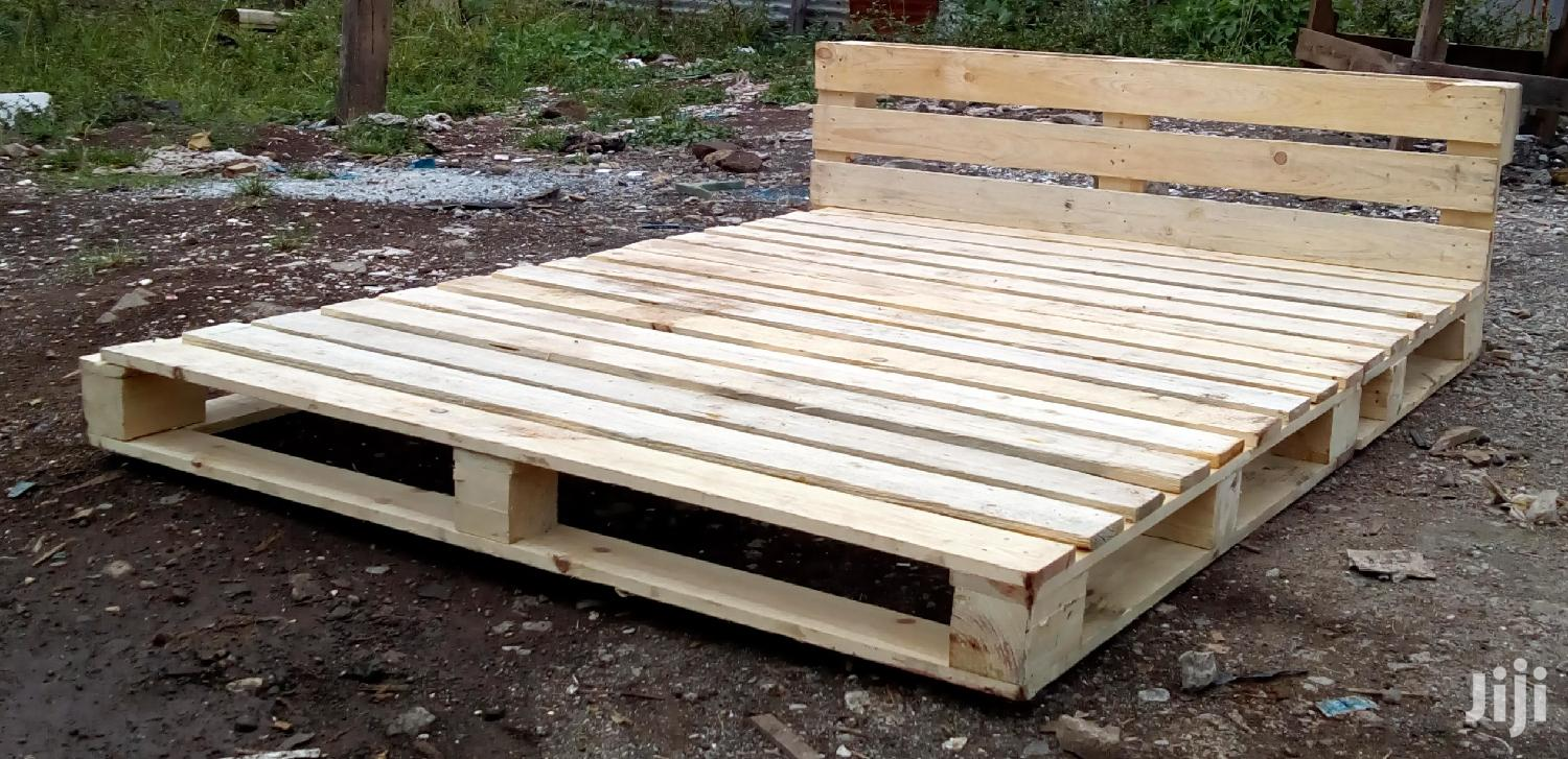 A Pallet Bed