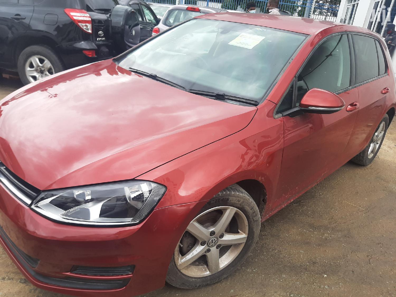 Volkswagen Golf 2013 Red
