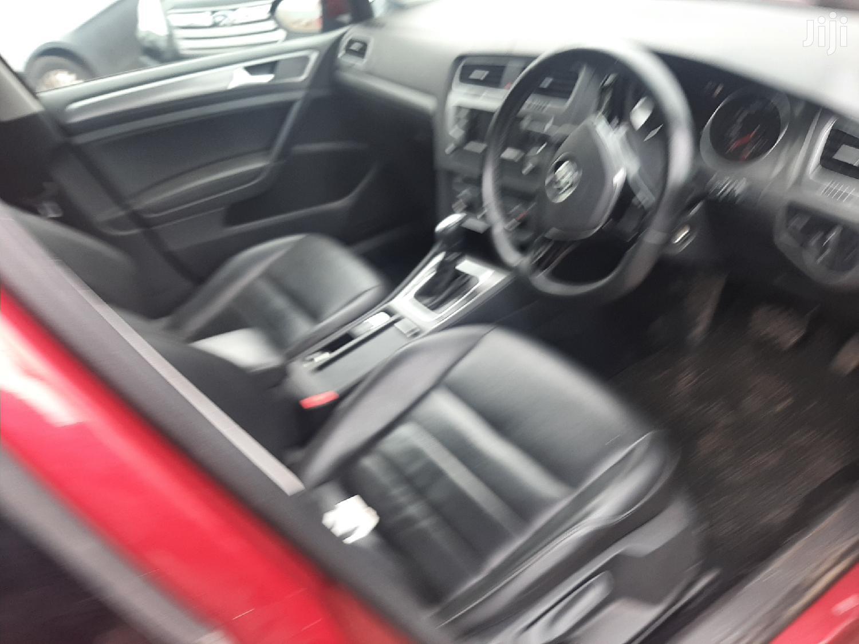 Volkswagen Golf 2013 Red | Cars for sale in Majengo, Mvita, Kenya