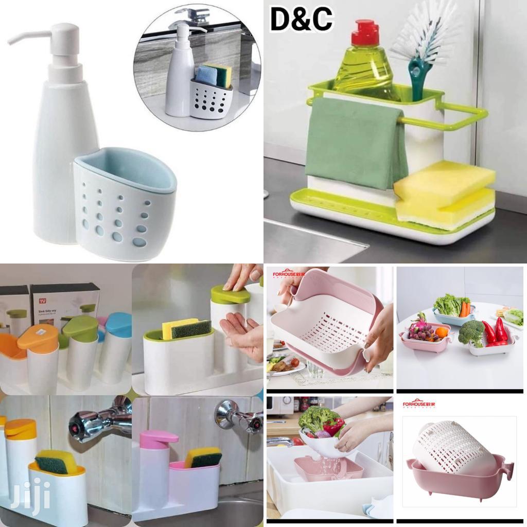 Sink Dish Washer Organizers