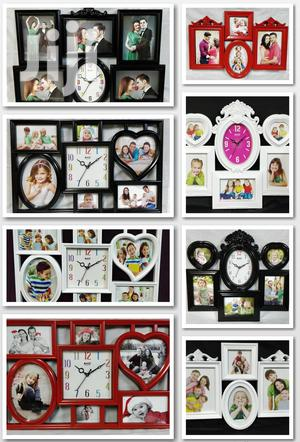 Home Deco 2in1 Picture Frames & Wall Clock | Home Accessories for sale in Nairobi, Nairobi Central