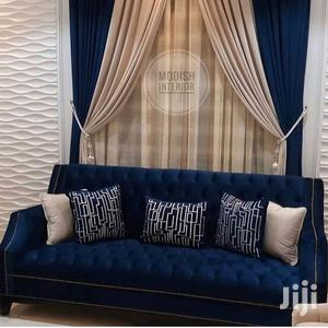 Blue and Beige Curtains | Home Accessories for sale in Nairobi, Nairobi Central