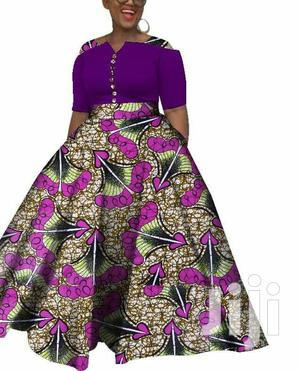 Ankara Long Dress | Clothing for sale in Nairobi, Eastleigh