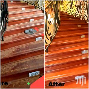 Wooden Floor Polishing And Floor Care Maintenance Services | Cleaning Services for sale in Nairobi, Kitisuru