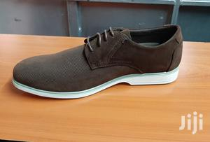 Italy Suede Leather Men Shoes Oxford Casual Classic Sneakers-Brown | Shoes for sale in Nairobi, Nairobi Central